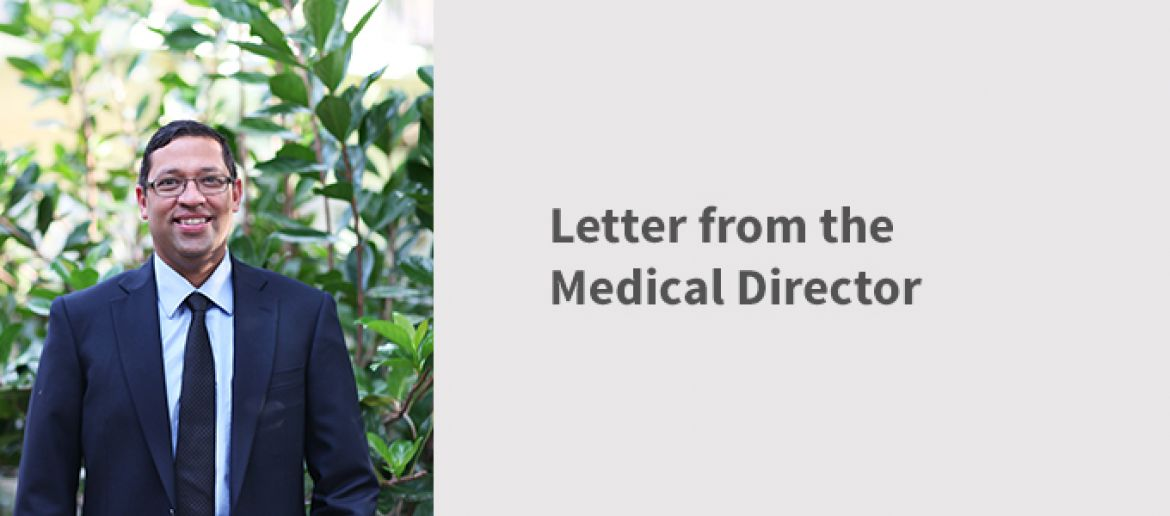Letter from the Medical Director