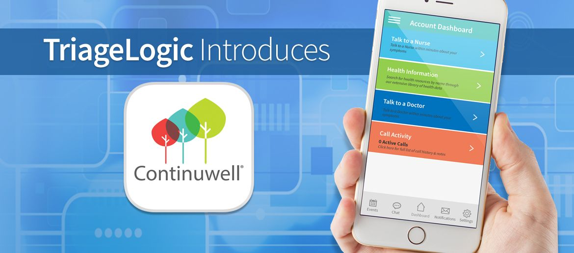 TriageLogic Announces Continuwell