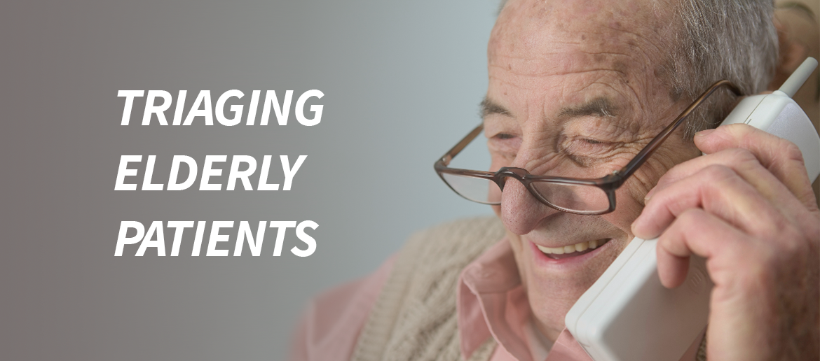 Triaging Elderly Patients