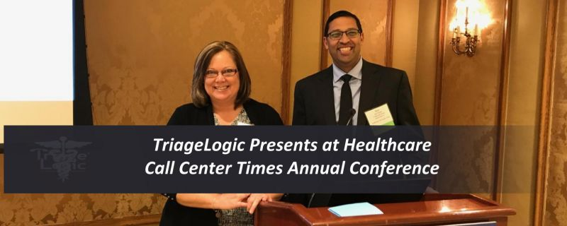 You are currently viewing TriageLogic Presents at Healthcare Call Center Times Annual Conference