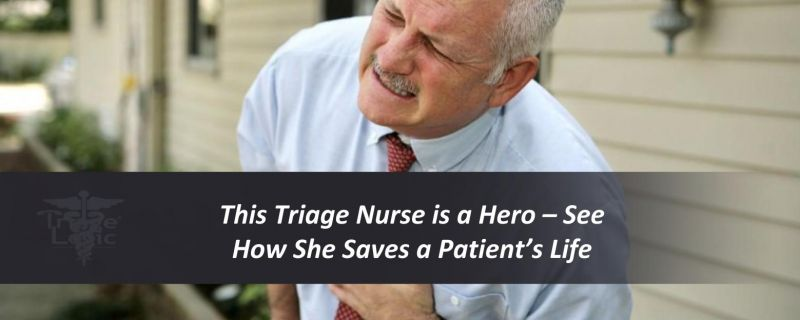 This Triage Nurse is a Hero – See How She Saves a Patient's Life