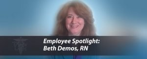 Employee Spotlight: Beth Demos, RN