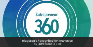 TriageLogic Recognized for Innovation by Entrepreneur 360