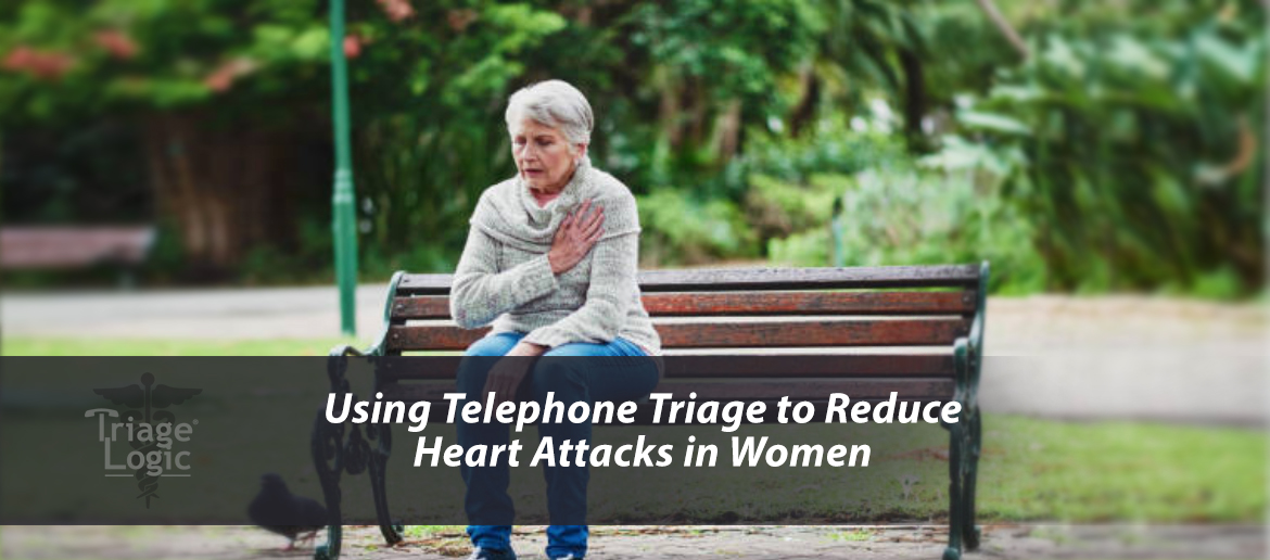 Using Telephone Triage to Reduce Heart Attacks in Women