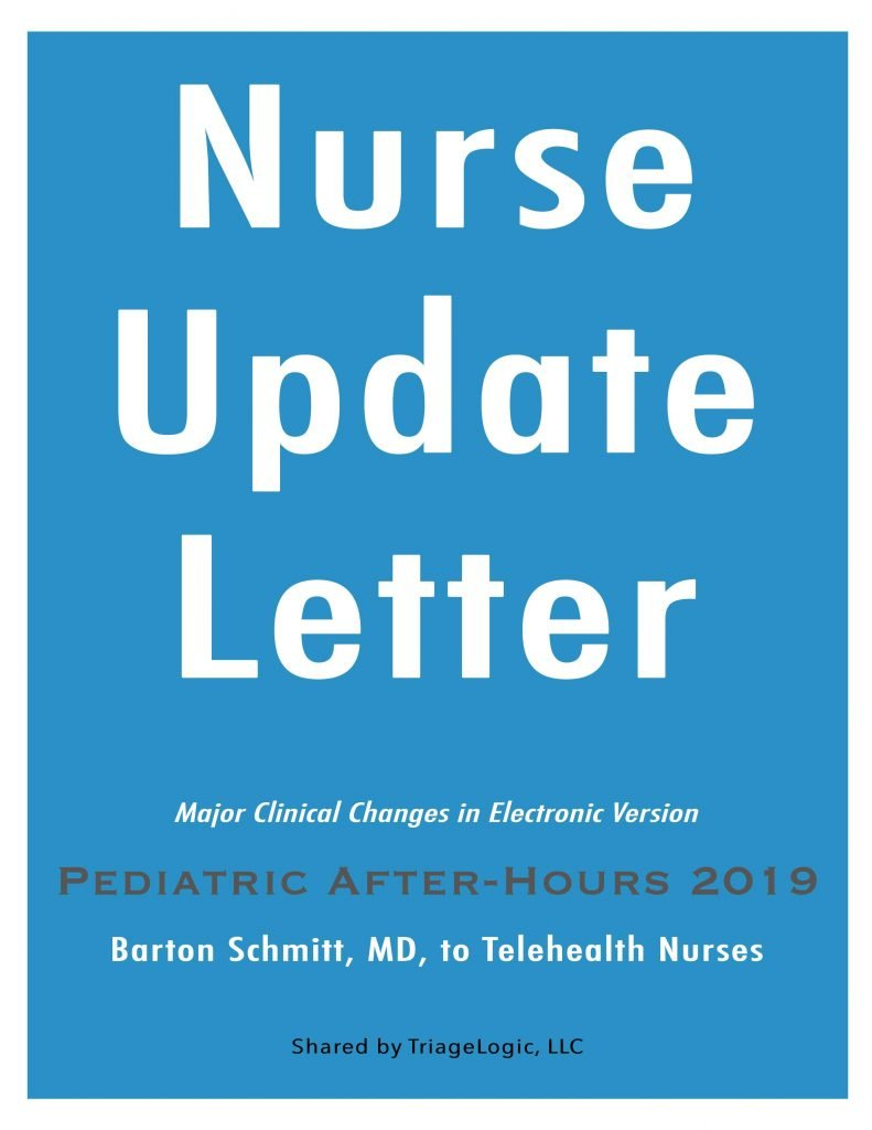 2019-Pediatric-After-Hours-Nurse-Update-Letter-Cover