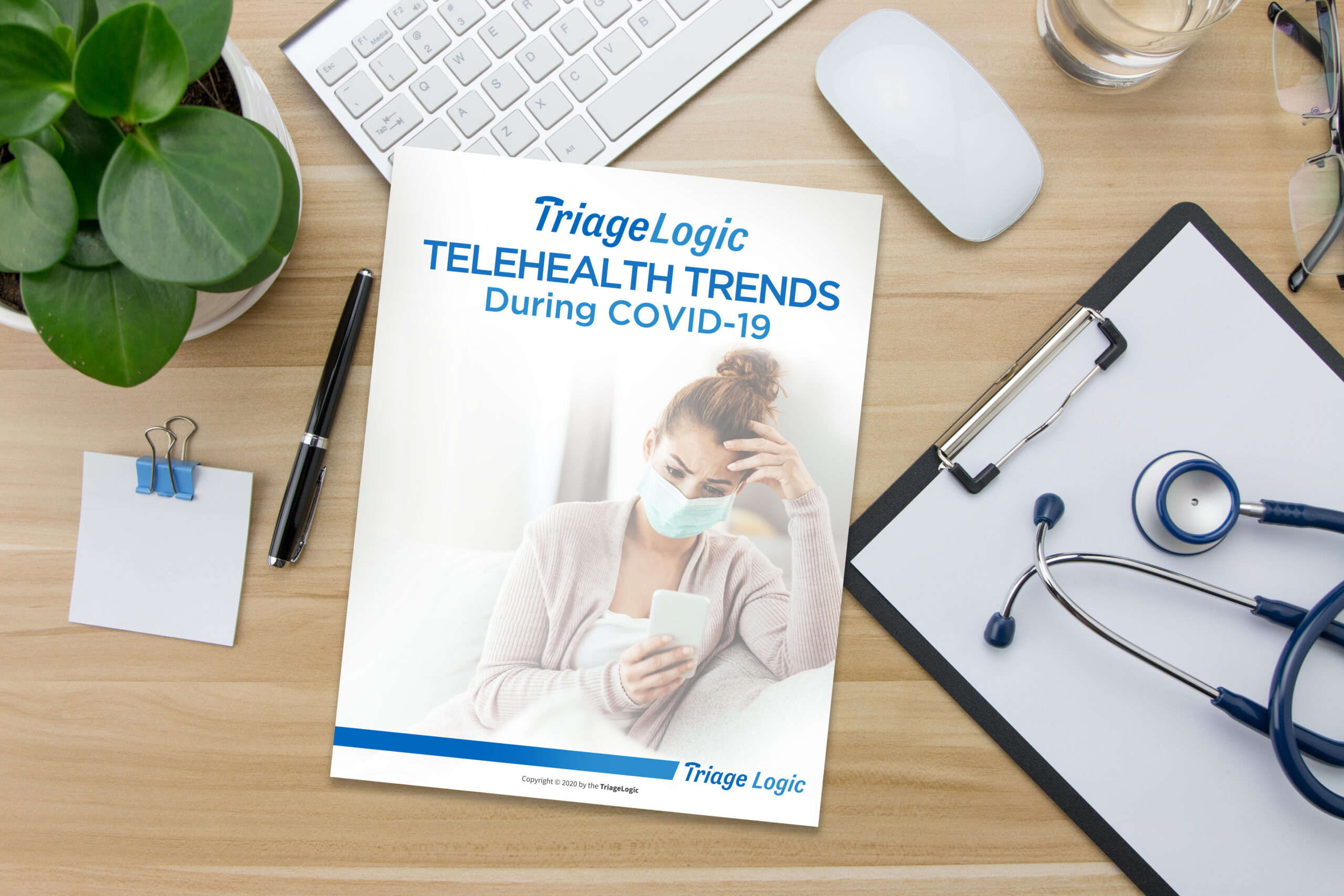 Press Release: TriageLogic Announces Ebook on Telehealth Trends During the COVID-19 Pandemic